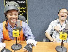Julio Serrano y Juan José Barrios en la víspera de la renuncia de Otto Pérez Molina.