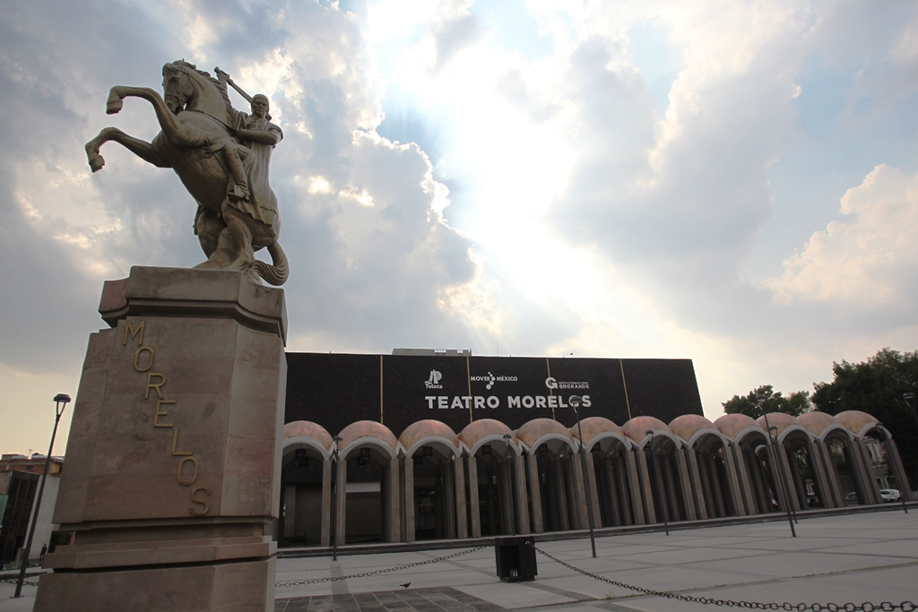 El Teatro Morelos en Toluca, México, es el recinto el que Ricardo Arjona comenzará su gira Circo Soledad. (Foto Prensa Libre: Keneth Cruz)