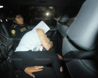 Se cumple un año de la captura de Roxana Baldetti