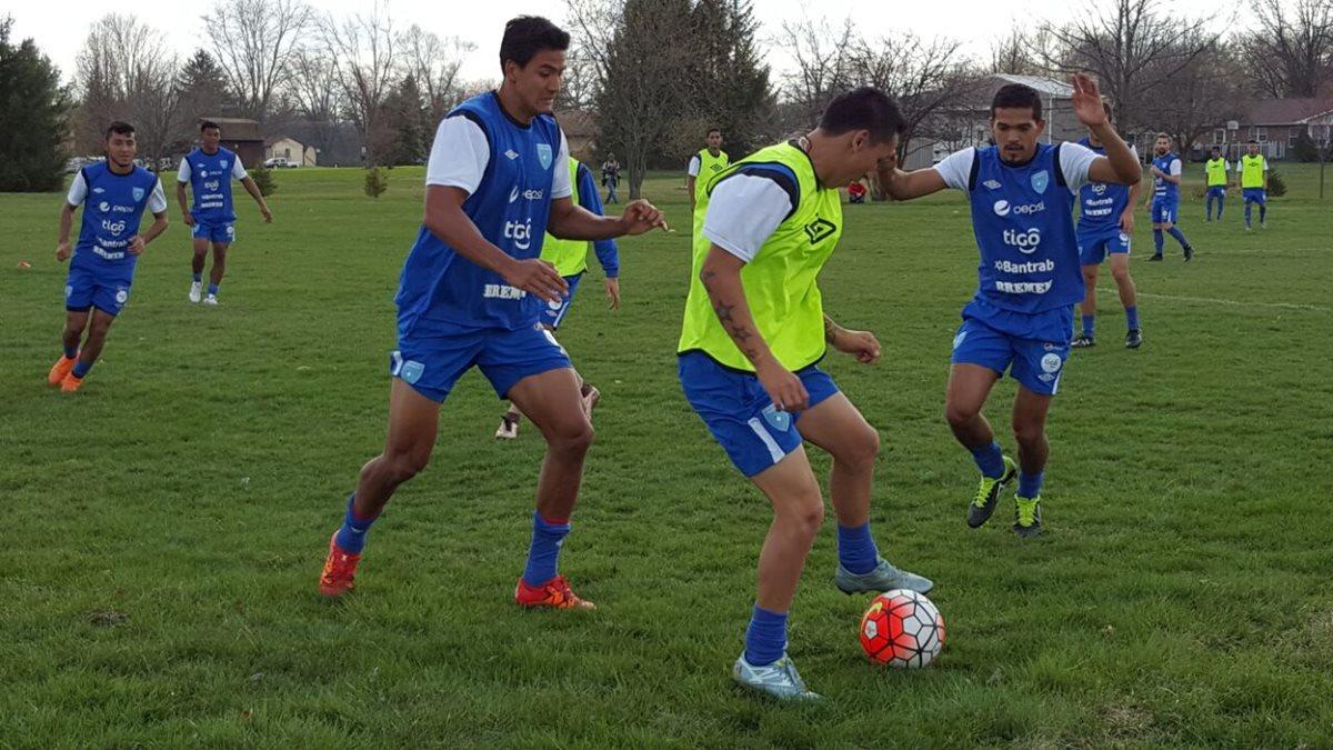La Bicolor se entrenó en horas de la tarde en el complejo Hilliard. (Fotos Prensa Libre: ACD)