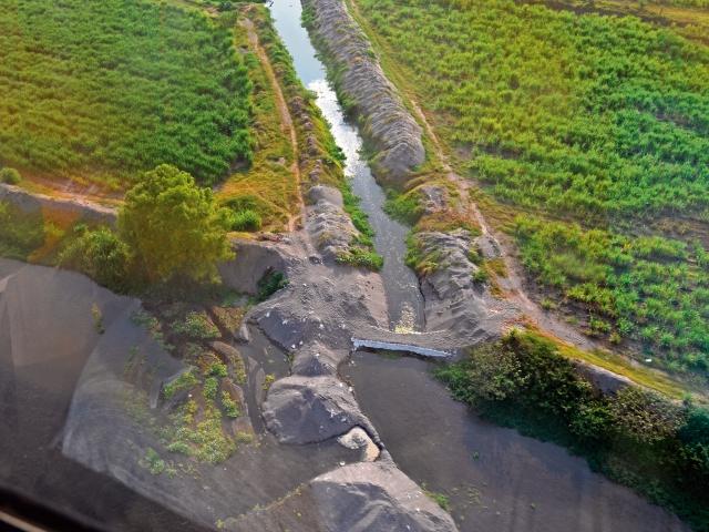 Ambiente ya no denunciará por desvío de ríos