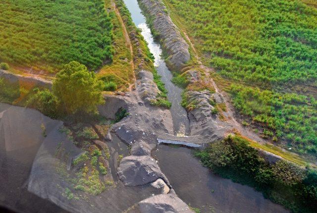 El ministerio de Ambiente informó en mayo pasado que había denunciado el desvío irregular de varios ríos por parte de empresas agroindustriales.
