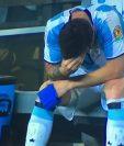 El dolor es inevitable, Lionel Messi vive en carne propia otro fracaso argentino. La pulga tomó un trago amargo en la tanda de penaltis. (Foto Prensa Libre: Tomda de Internet)