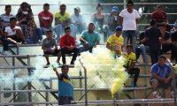 La afición de Guastatoya disfrutó el partido. (Foto Prensa Libre: Francisco Sánchez)