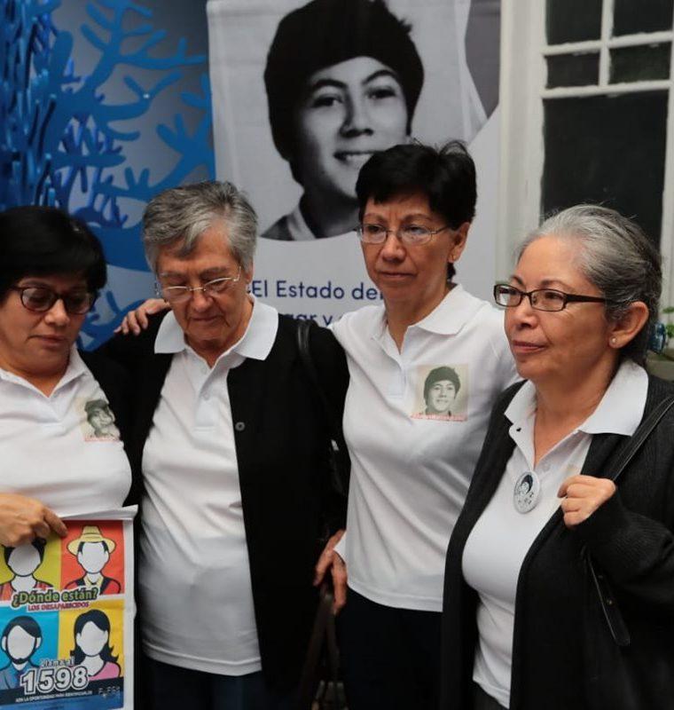 La familia aseguró que no descansarán hasta encontrar los restos de Marco Antonio. (Foto Prensa Libre: Álvaro Interiano)