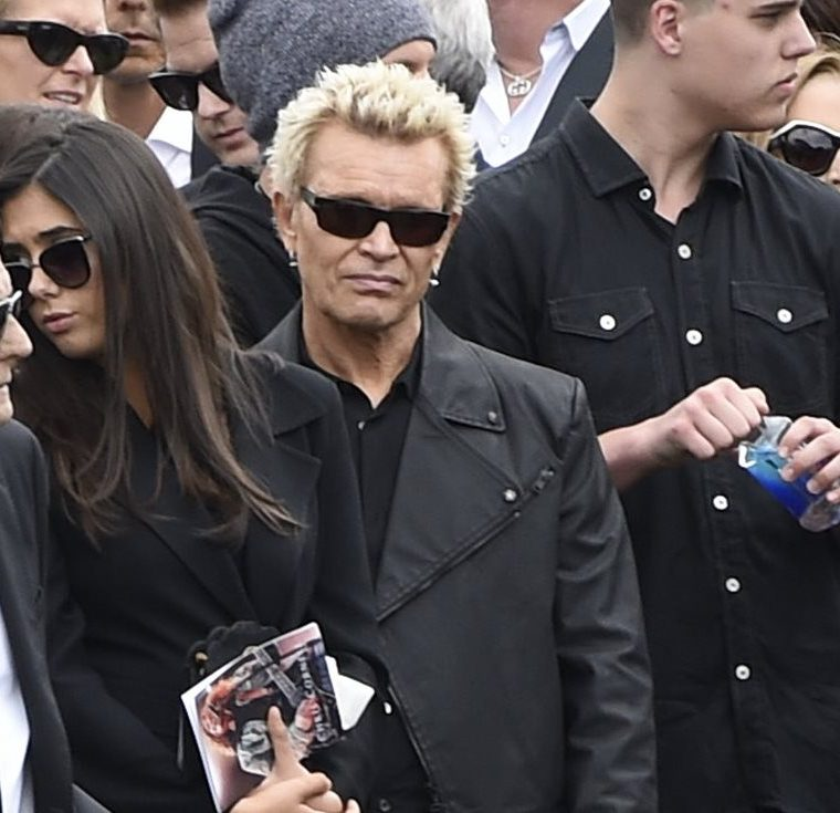 Billy Idol. (Foto Prensa Libre, AP)