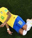 Pelé admitió que fue difícil defender a Neymar durante la Copa del Mundo de Rusia 2018. (Foto Prensa Libre: AFP)