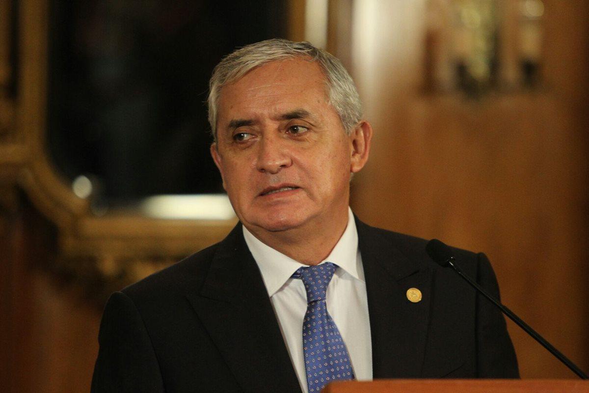 Dictan orden de captura contra Otto Pérez Molina