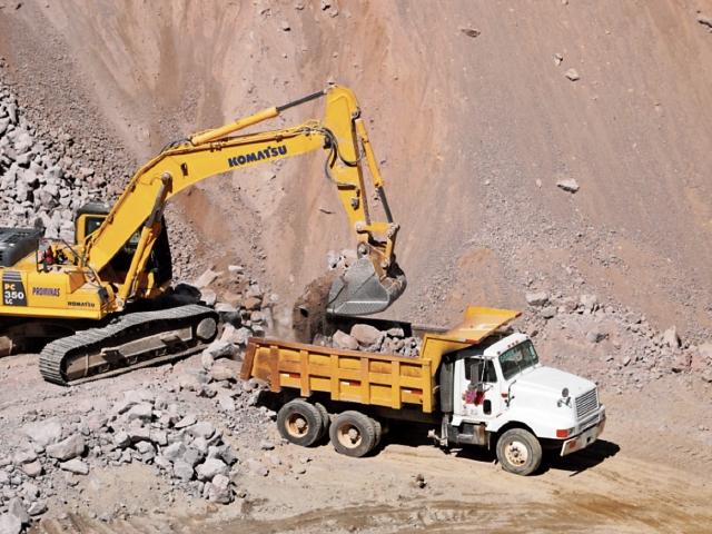 Planta de piedrín proyecta aumento de producción por construcciones en Xela