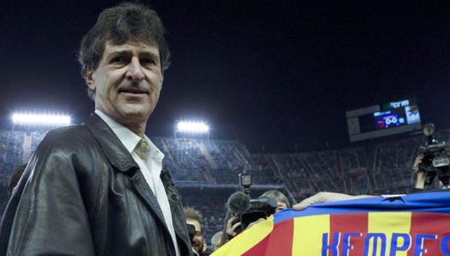 La Asociación de Futbolistas del Valencia muestra su apoyo a Kempes