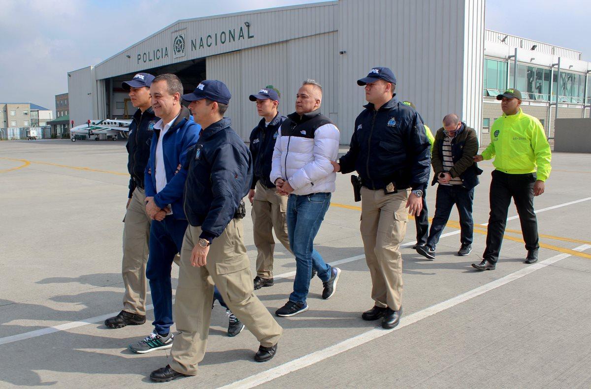 Varios intengrantes y dirigentes del Clan Úsuga han sido extraditados a EE. UU. (Foto Prensa Libre: AFP)