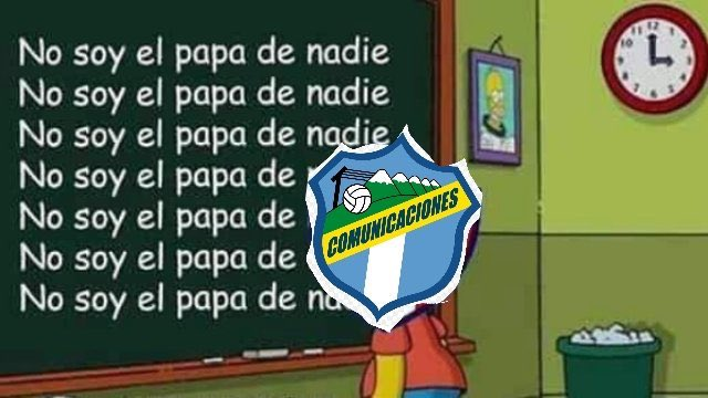 Algunos internautas festejaron la derrota de Comunicaciones. (Foto Prensa Libre: Twitter)