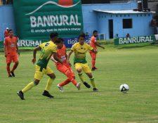 Petapa empató el sábado 2-2 ante Siquinalá y es décimo en la tabla de posiciones de la Liga Nacional, después de la jornada 3. (Foto Prensa Libre: Hemeroteca PL)