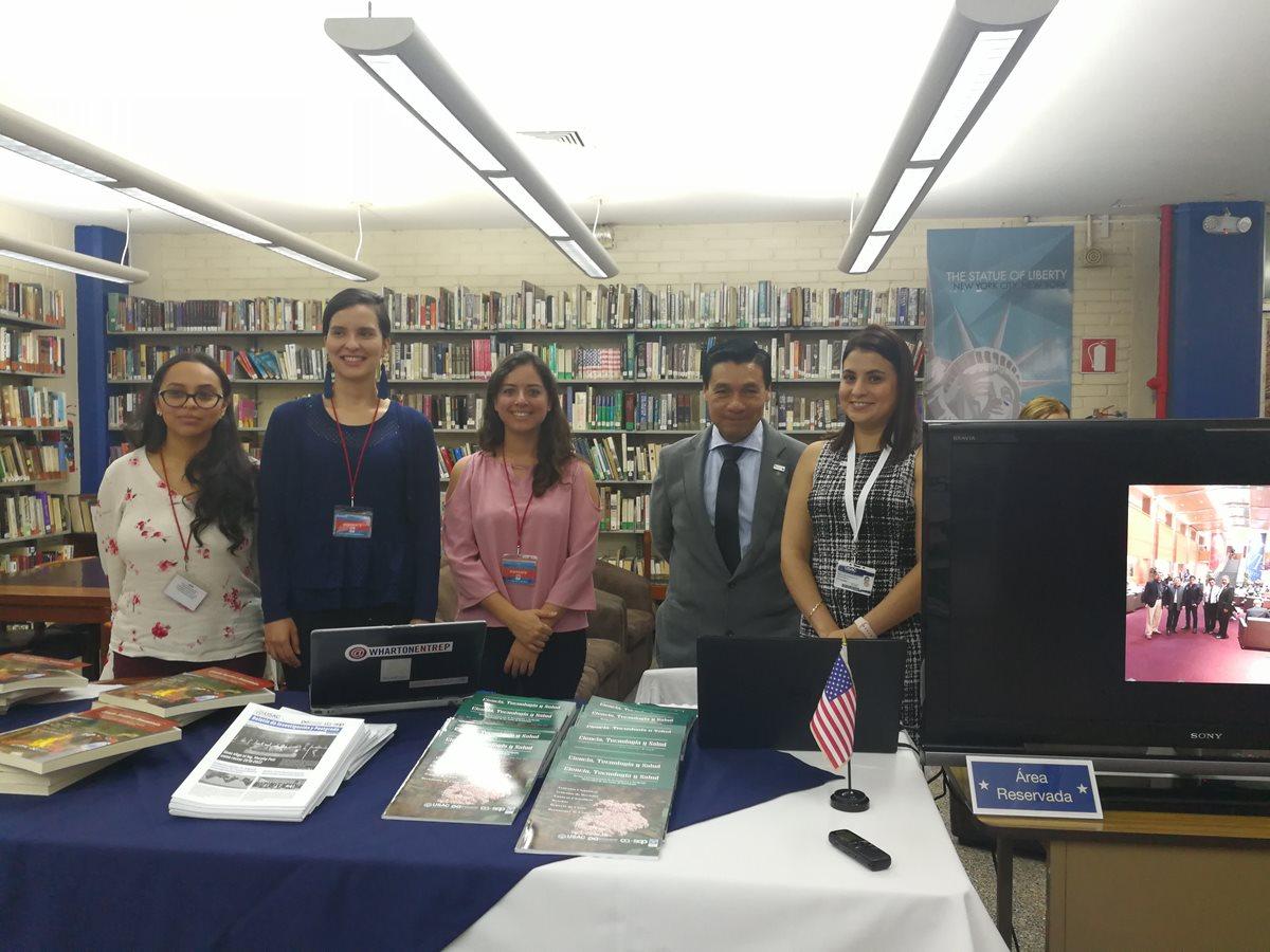 Este es el equipo de la Universidad de San Carlos que el año pasado viajó a la Universidad de Pensilvania. (Foto Prensa Libre: Ana Lucía Ola)