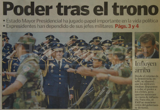 Detalle de la portada del 11/4/1999. (Foto: Hemeroteca PL)