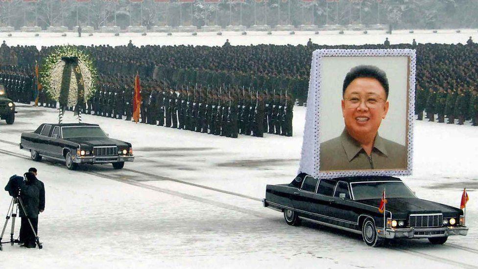 El 28 de diciembre de 2011 se llevó a cabo el funeral del Líder Supremo, Kim Jong-il, el padre de Kim Jong-un.