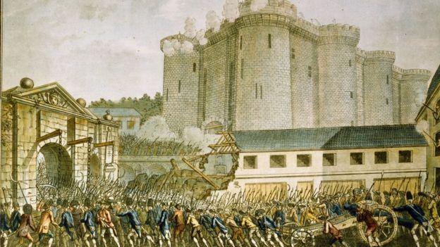 La toma de la Bastilla cambió completamente el enfoque de la exhibición de figuras de cera. GETTY IMAGES