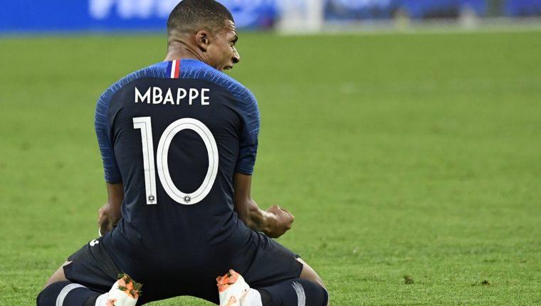 Kylian Mbappé asegura que jugar la final de la Copa del Mundo es un sueño hecho realidad. (Foto Prensa Libre: AFP)