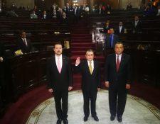 Manuel Reginaldo Duarte Barreda fue electo como magistrado de la Corte Suprema de Justicia. (Foto Prensa Libre: Erick Ávila)