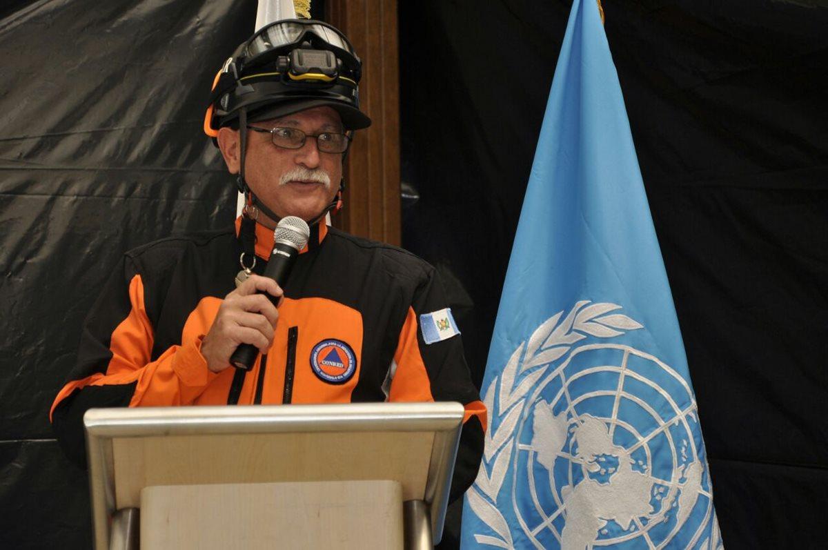Morales nombra a Sergio Cabañas secretario de la Conred