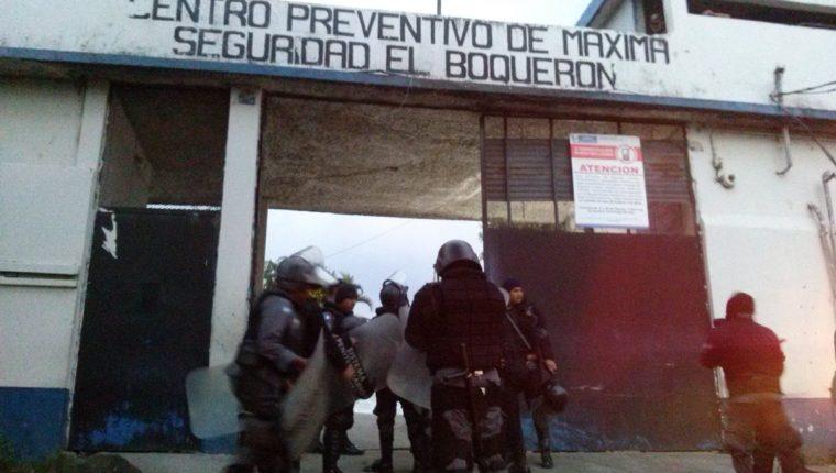 La mara salvatrucha mantiene el control del penal de El Boquerón. (Foto Prensa Libre: Hemeroteca PL)