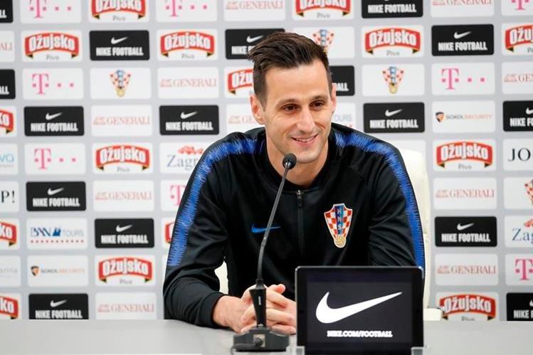 Kalinic se negó a ingresar al terreno de juego en el debut de Croacia en Rusia 2018 contra Nigeria. (Foto Prensa Libre: Hemeroteca PL).
