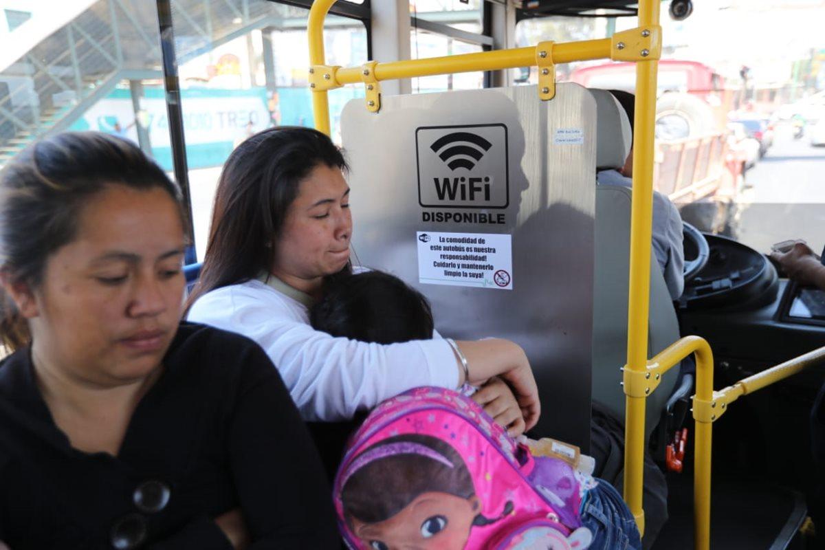 El servicio propuesto por Luka Electric cuenta con señal Wifi. (Foto Prensa Libre: Erick Ávila)