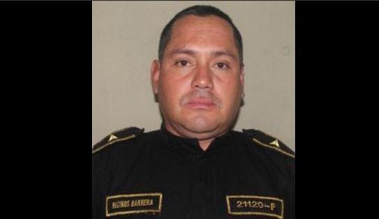 Franklin Barrera Recinos, oficial tercero de la PNC fallecido. (Foto Prensa Libre: Hemeroteca)