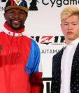 El estadounidense Floyd Mayweather se medirá en un combate de exhibición contra el japonés Tenshin Nasukawa. (Foto Prensa Libre).