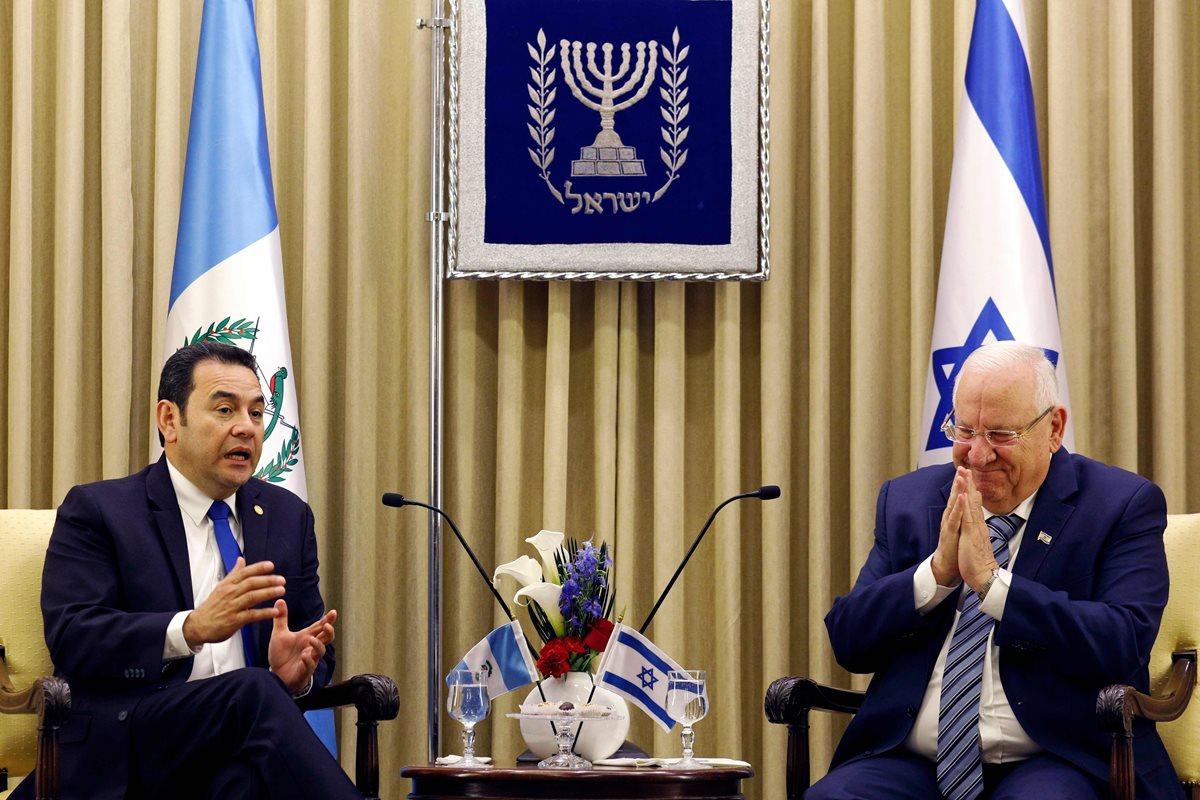 Mundo árabe critica a Guatemala por la embajada en Jerusalén e Israel la defiende