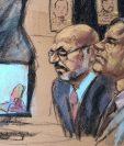 Un testigo del juicio contó una anécdota sobre un accidente de avión que sufrió Guzmán. REUTERS