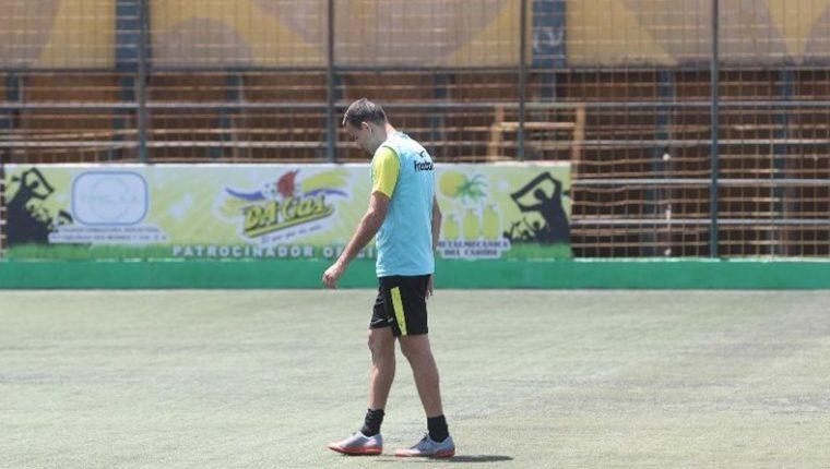 Marco Pablo Pappa es nuevo volante de Petapa. (Foto Prensa Libre: Edwin Fajardo)