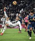 Cristiano Ronaldo tuvo una buena actuación contra el SPAL (Foto Prensa Libre: AFP)