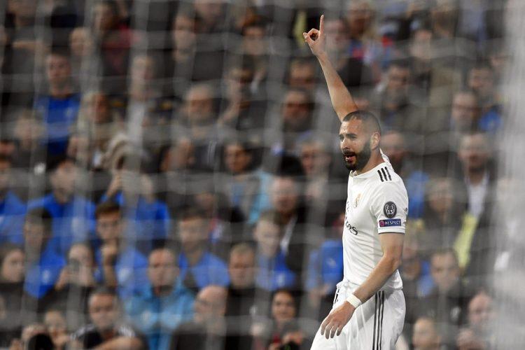 Karim Benzema abrió el marcador para el Real Madrid.