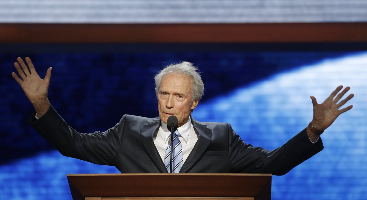 Clint Eastwood es un seguidor de las políticas de Donald Trump. (Foto Prensa Libre: AP)