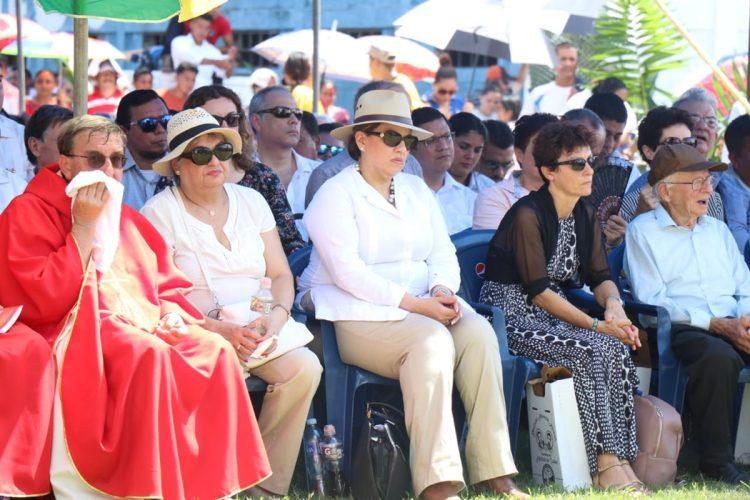 La Canciller Sandra Jovel estuvo presente en representación del gobierno de Guatemala.