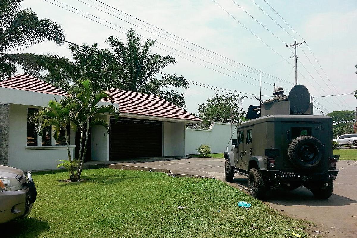 Allanan viviendas de familia Oajaca en Mazatenango