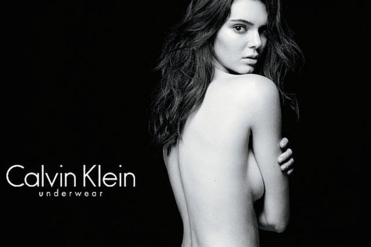 Kendall Jenner sorprende con su bella figura para anuncio de Calvin Klein