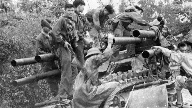 El ataque sorpresa fue ejecutado entre guerrilleros del Viet-Cong y las fuerzas nortvietnamitas. GETTY IMAGES