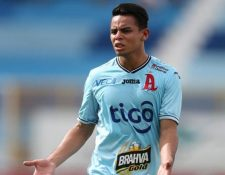 Alexander Larín sería el nuevo refuerzo crema para la siguiente temporada. (Foto Prensa Libre: Cortesía Diario El Gráfico de El Salvador)
