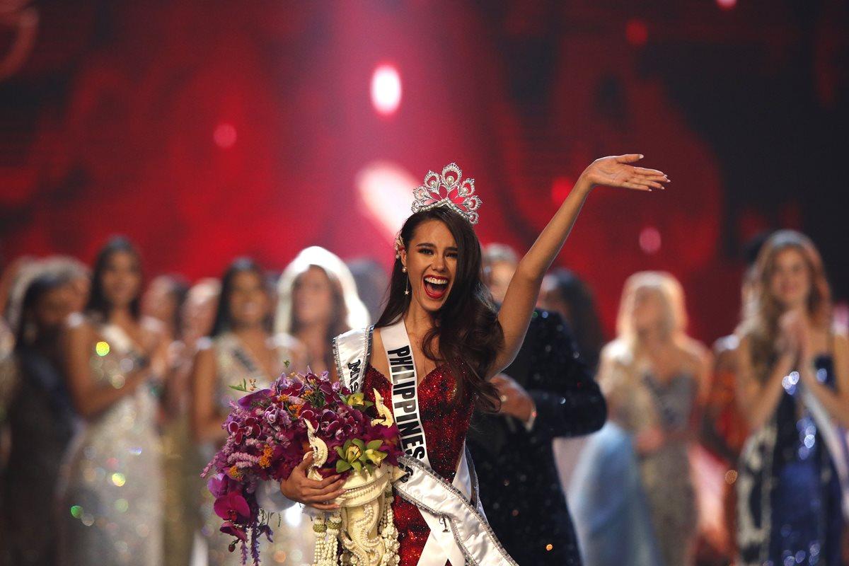 3 datos que quizás no conocía sobre Catriona Gray, la Miss Universo 2018
