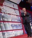 Trump habla en la Conferencia de Acción Política Conservadora (CPAC) en Maryland, EE. UU.(Foto Prensa Libre:AFP).