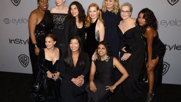 Las mujeres protagonizaron los Globos de Oro (Foto Prensa Libre: EFE).