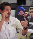 Yuri Cortez relata como vivió el momento en el que fue derribado por los jugadores de la selección de Croacia durante la celebración del gol de Mario Mandzukic. (Foto Prensa Libre: AFP)