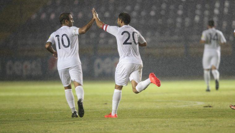 El 6 de septiembre fue el último partido que jugó la Selección Nacional, el mismo día que la despedida del goleador histórico Carlos Ruiz (20). (Foto Prensa Libre: Hemeroteca PL)