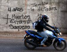 El ejecutivo decretó el viernes estado de excepción durante 10 días (Foto Prensa Libre:AFP)