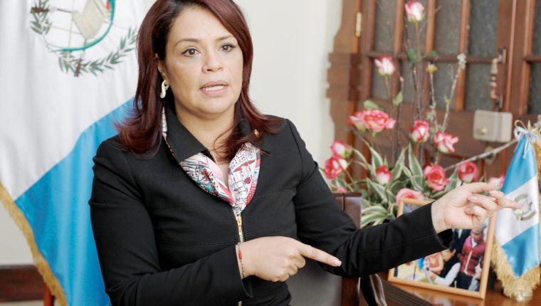 La ex vicepresidenta Baldetti Baldetti será procesada por los delitos de asociación ilícita, fraude y tráfico de influencias. (Foto Prensa Libre: Hemeroteca PL)