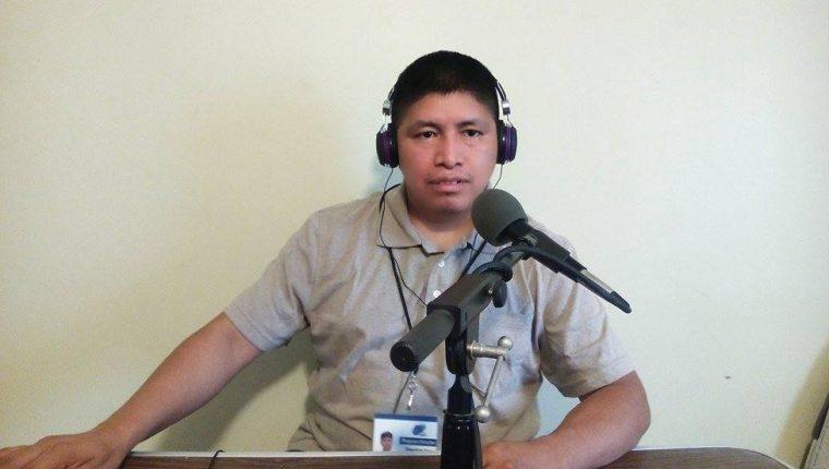 """""""Pancholón"""", originario de Santa Cruz Barillas, Huehuetenango, es propietario de 11 radios virtuales que operan desde Estados Unidos. Foto Prensa Libre: Cortesía de Francisco Juan Francisco."""