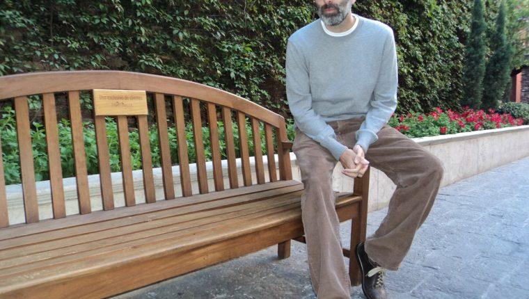 Eduardo Halfon fue reconocido este año con el Premio Nacional de literatura Miguel Ángel Asturias.