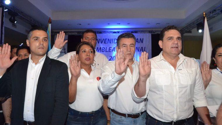 El MR formó su dirigencia en asamblea el domingo último. (Foto Prensa Libre: Antonio Jiménez)